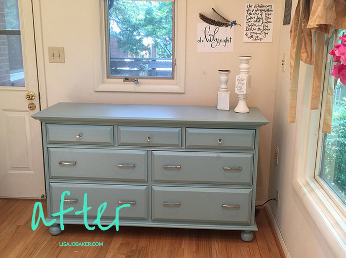 My First Time Painting Furniture – aka – If I Can Do It, Anyone .