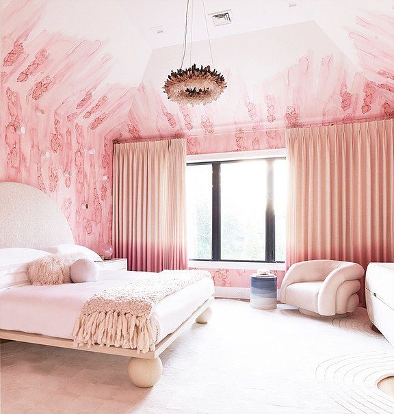 Pretty in Pink Bedroom - The English Ro