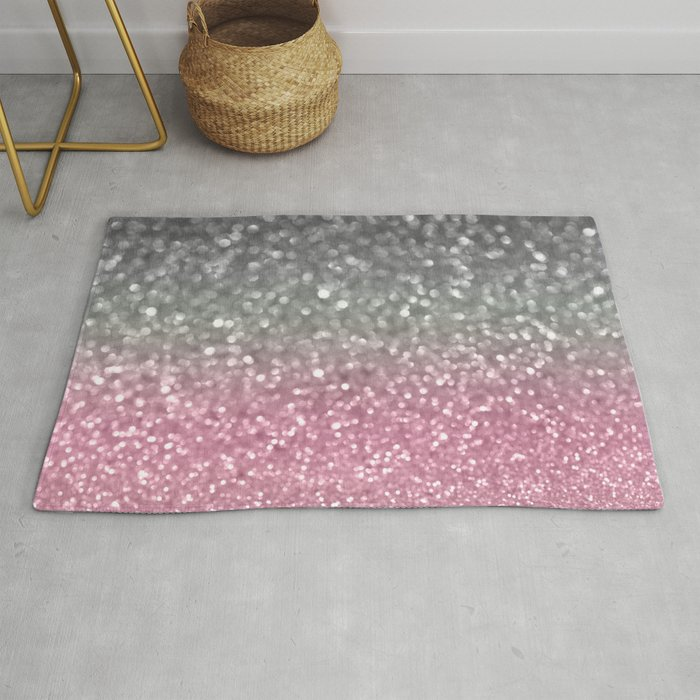 Gray and Light Pink Rug by lisaargyropoulos | Societ