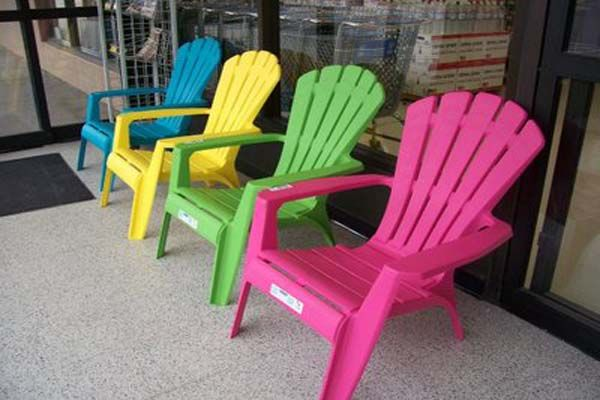 plastic adirondack chairs lowes colour may vary | Outdoor plastic .