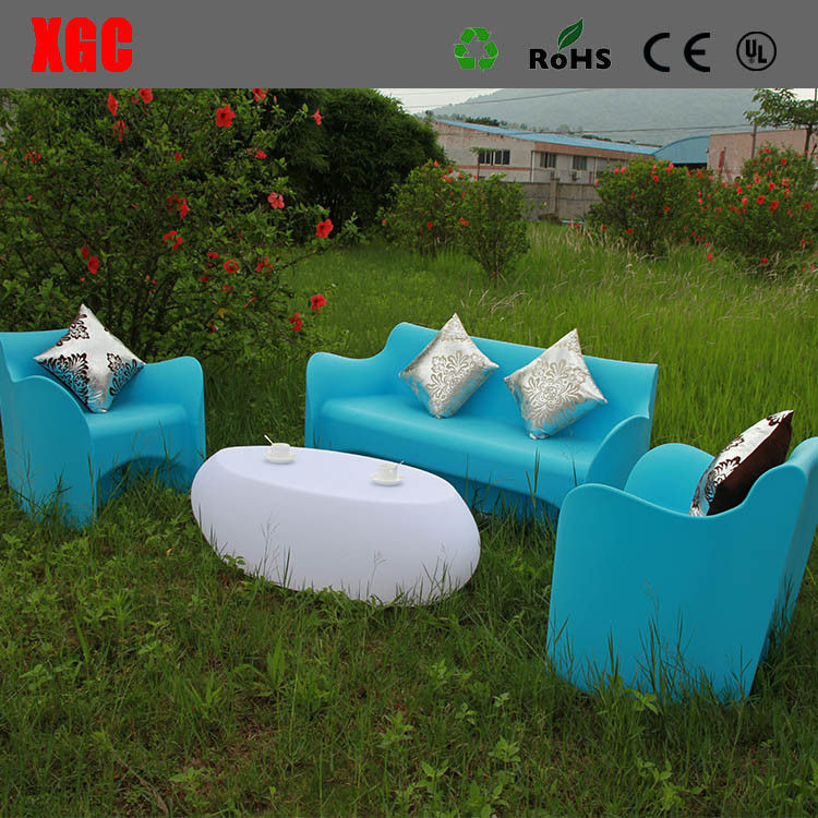2018 Rotational Molding Plastic Outdoor Furniture / Hollow .