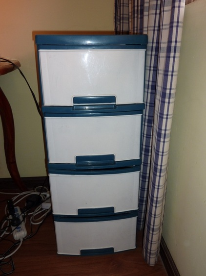 Plastic Storage Drawers - The Deans' Dong
