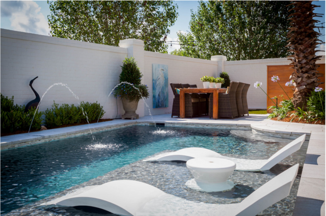 """Ledge Lounger: The Ultimate """"In-Water"""" Pool Furniture - Luxury ."""