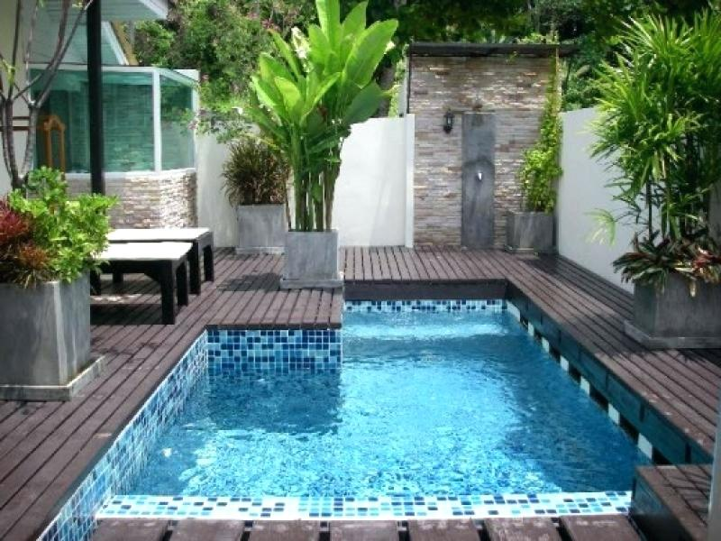 Small Backyard Pool Landscaping Ideas Decorating Bars Designs For .