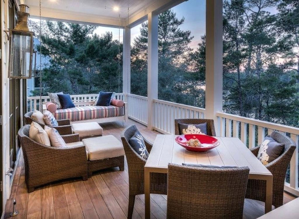 Screened In Porch Furniture Ideas Popular Screen For Patio .