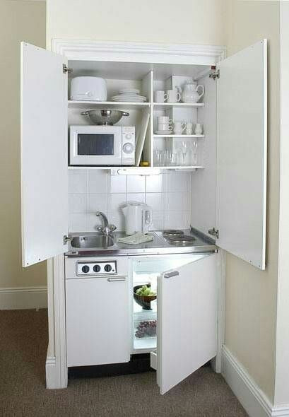 Pin by Rebecca Brannan on 20ft Container | Small apartment kitchen .