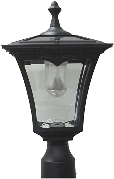Amazon.com : Lily's Home Solar Lamp Post Light - Coach Light with .