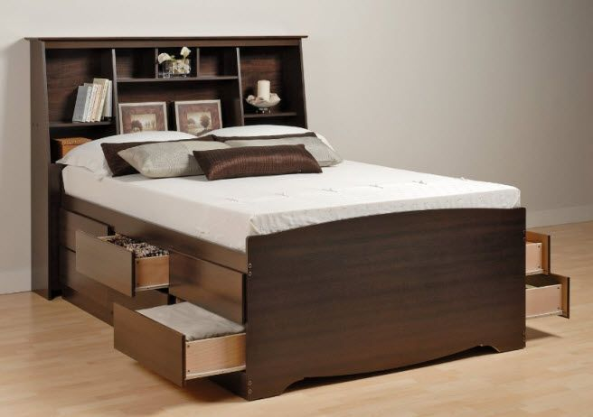 bed with storage below queen size bed with drawers underneath .