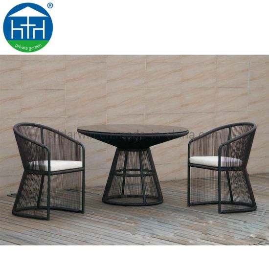 China Outdoor Rattan Garden Furniture Wicker Dining Patio Table .