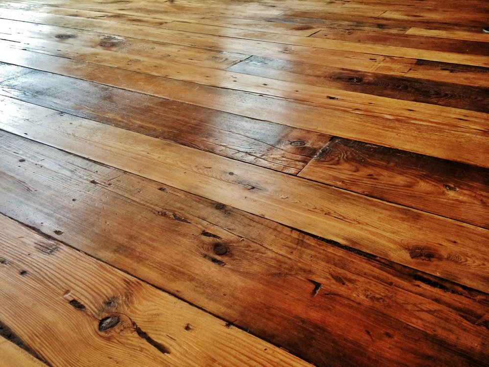Reclaimed Wood Flooring — Real Antique Wo