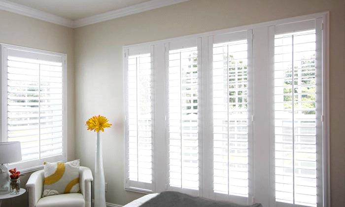 Steve's Exclusive Collection - Wood Shutters - Traditional Solid .