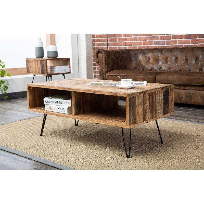 Reclaimed Wood Coffee Table - Brixton | RC Willey Furniture Sto