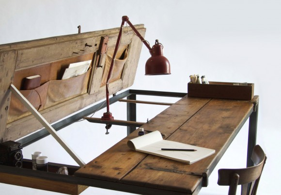 Reclaimed wood furniture by manote