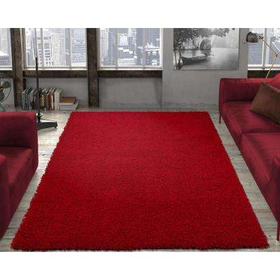 Red - Mid-Century Modern - 19.0 - Area Rugs - Rugs - The Home Dep