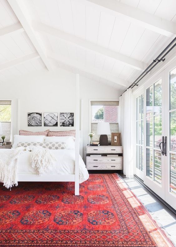 Make a statement: Rugs that enliven every interior   Home bedroom .