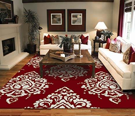 Amazon.com: New Contemporary Rugs 2x3 Flower Leaves Pattern 2x3 .