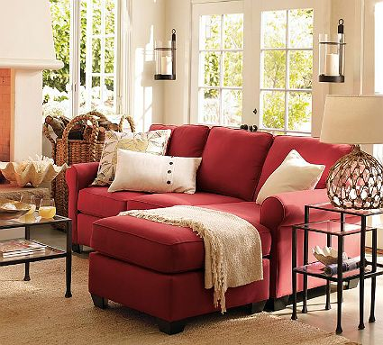 Shop Smarter in 2020 | Red couch living room, Living room red .