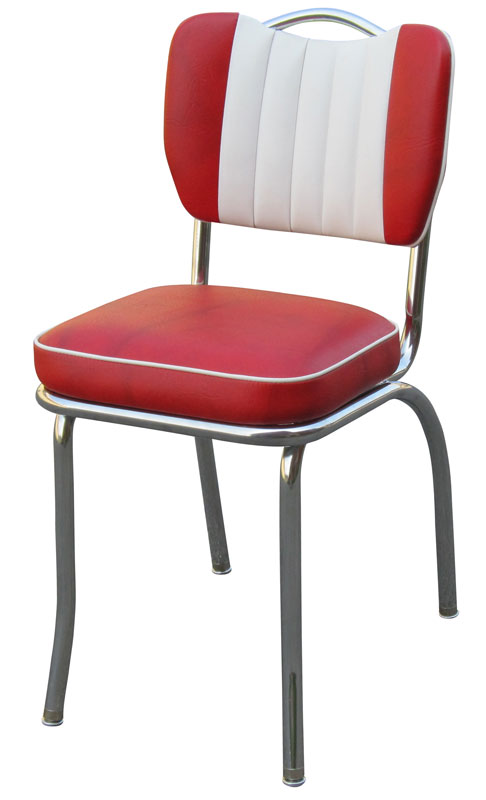 Handle Back Diner Chair | Two Tone Handle Back | Retro Kitchen .