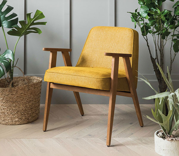 Retro furniture for a charming nostalgic living ambience .