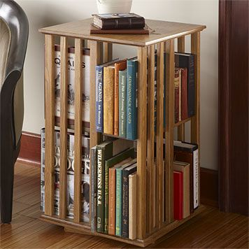 Just found this Revolving Bookcase Table - Shaker-Style Revolving .