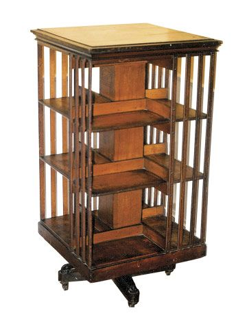 Revolving Bookcase: What Is It? What Is It Worth? | Revolving .