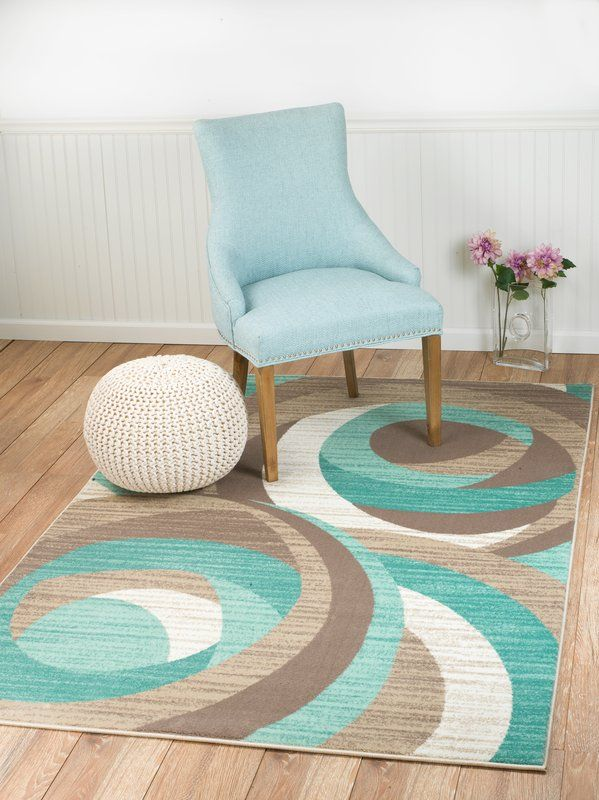 Rick Teal Area Rug | Contemporary area rugs, Area rugs, Teal area r