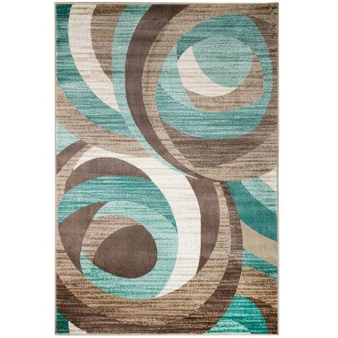 Found it at Wayfair - Rick Teal Area Rug | Teal area rug, Colorful .