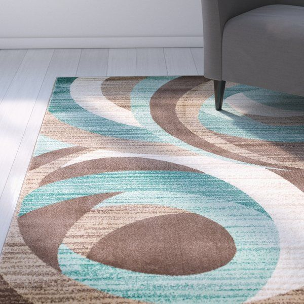 You'll love the Rick Teal Area Rug at Wayfair - Great Deals on all .