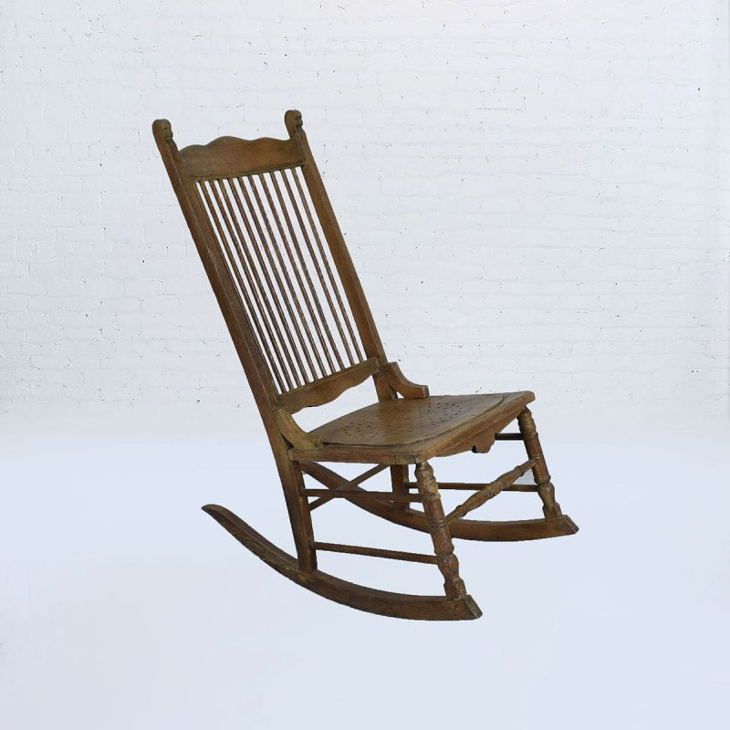 Traditional OR Classic Other Antique Rocking Chair | vntghome.c
