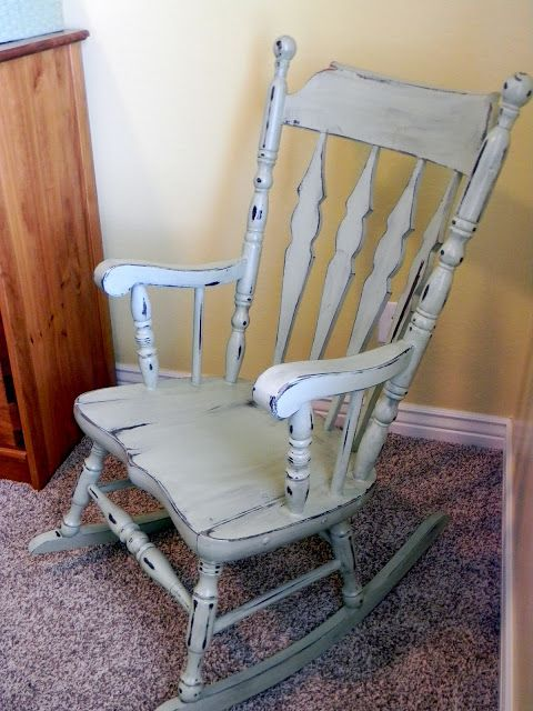 Rocking Chair & Glider   Painted rocking chairs, Rocking chair .