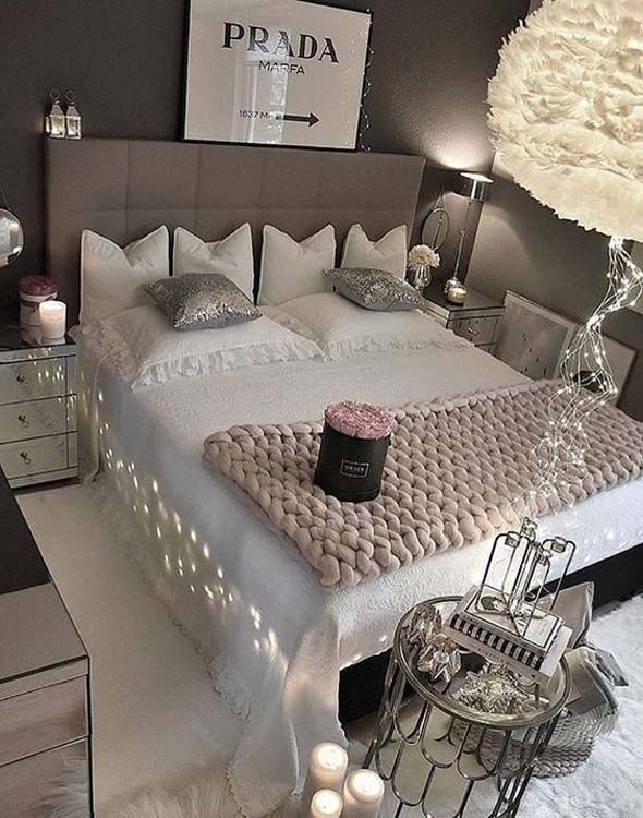 Decorating Your Bedroom For Romance | Romantic bedroom design .