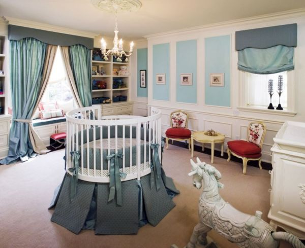 16 Cute Round Baby's Crib Ideas That Will Melt Your Hea