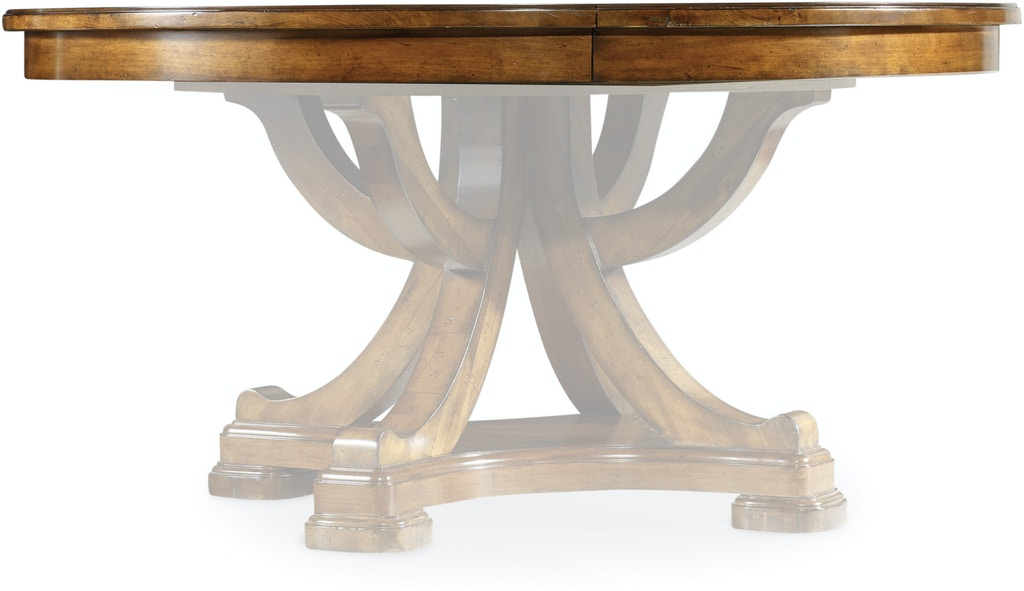 Hooker Furniture Tynecastle 60in Round Pedestal Dining Table Top w .