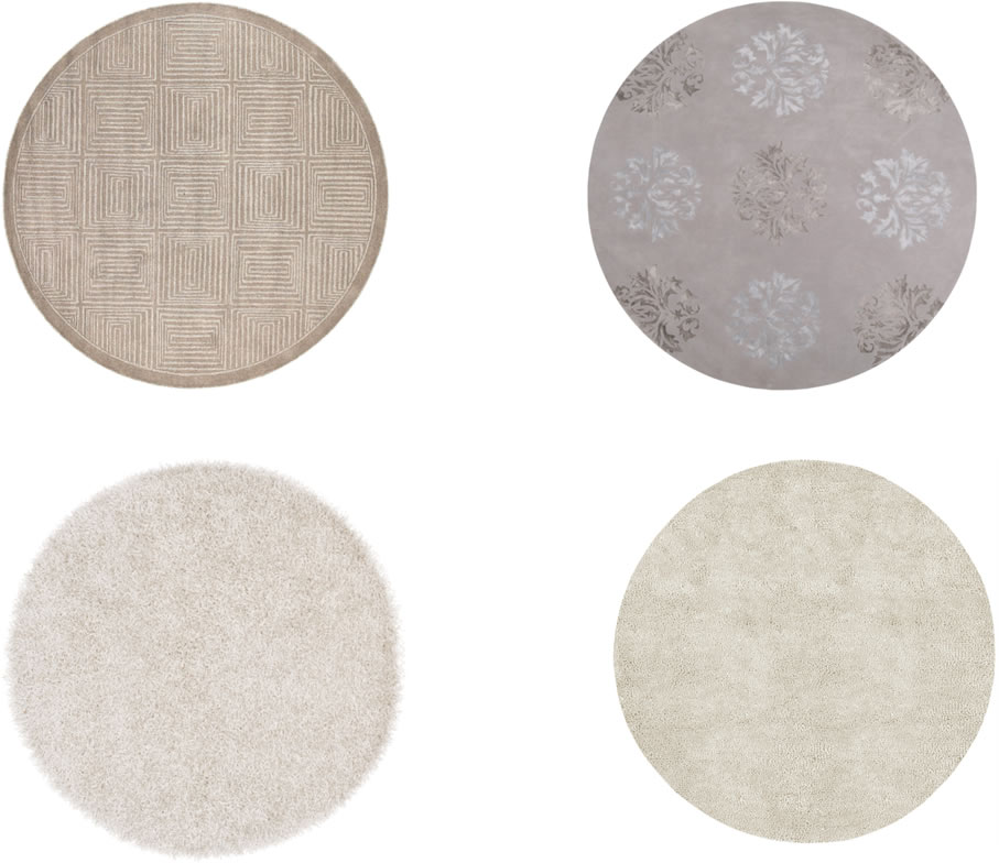 Round Rugs for Outdoors and In, Large and Small | The Perfect R
