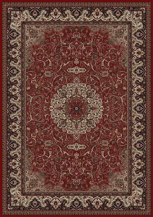 Concord Global Trading Persian Classics 2030 Isfahan Red Area Rug .
