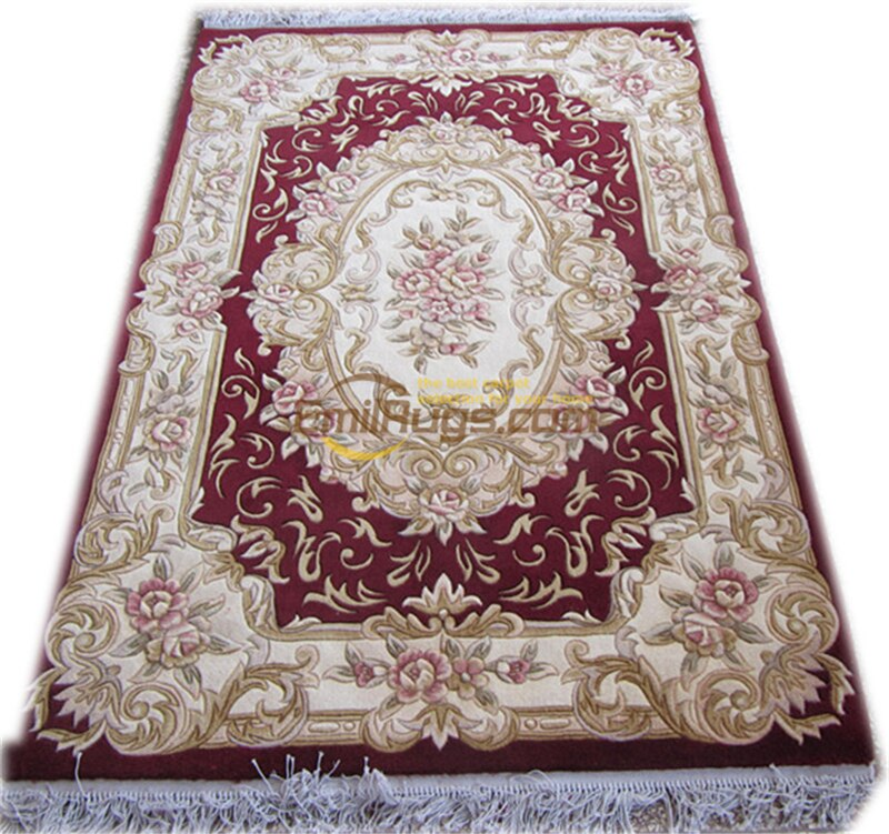 Hand knotted Rug Large Vintage Style Floor For Bedroom Runner Rugs .