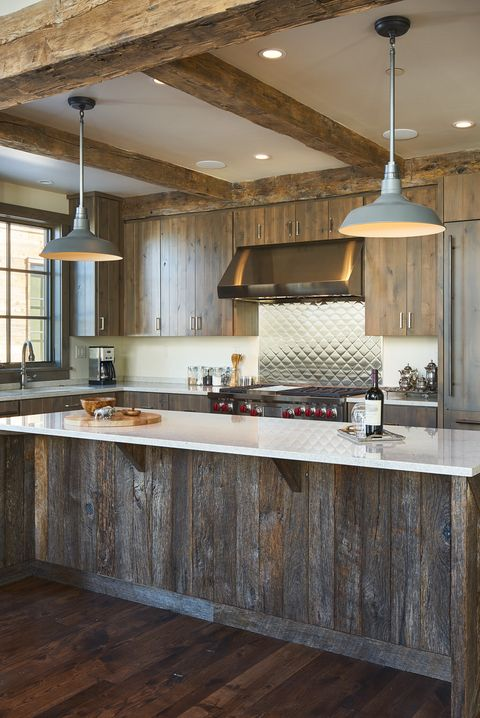 15 Best Rustic Kitchens - Modern Country Rustic Kitchen Decor Ide