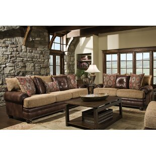Rustic Leather Living Room Sets You'll Love in 2020 | Wayfa