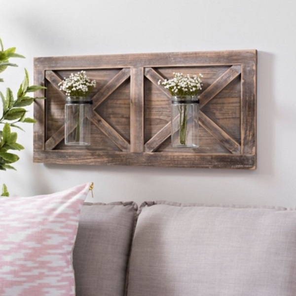 40 Unique Rustic Wood Wall Decor Ideas for Every Ro