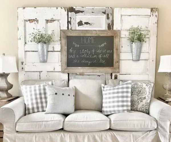 40 Rustic Wall Decor DIY Ideas 20