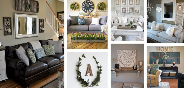 33 Best Rustic Living Room Wall Decor Ideas and Designs for 20