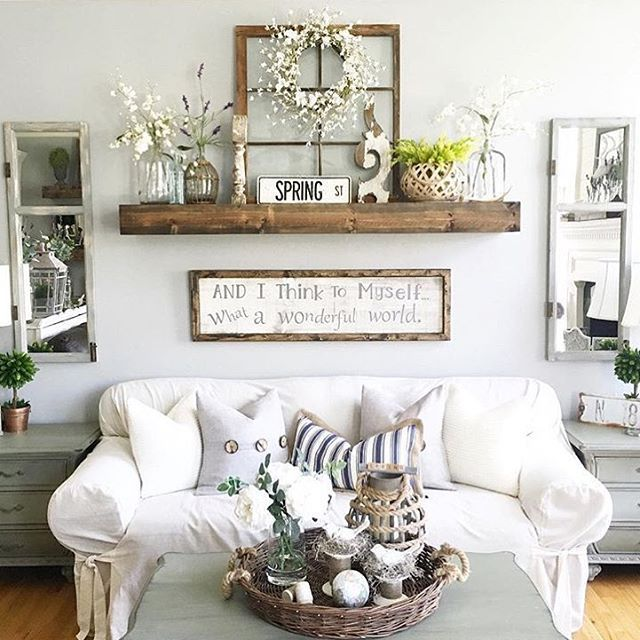 Rustic Wall Decor Ideas For Living Room