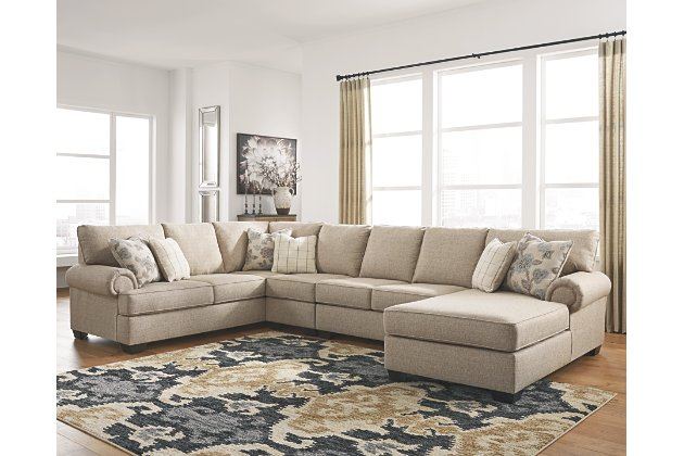 Baceno 4-Piece Sectional with Chaise   Ashley Furniture HomeSto