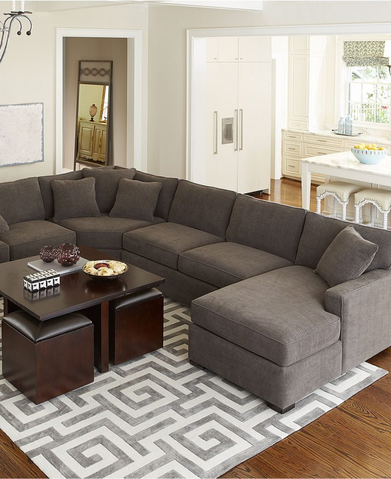 Sectional Sofa Dining Room Arrangement Ideas Tabletop Living .