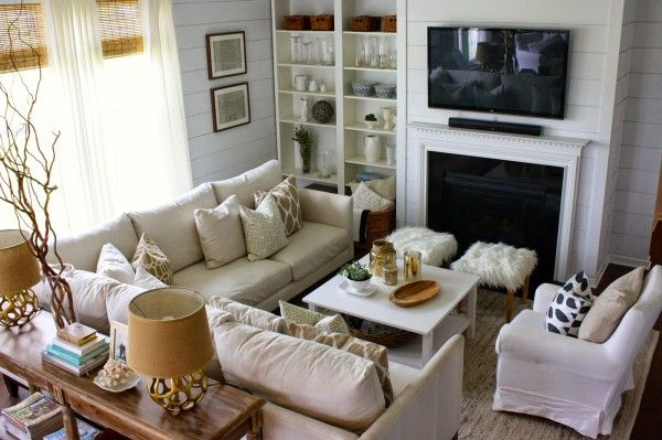 Eclectic Home Tour - House Seven | Small living room layout .
