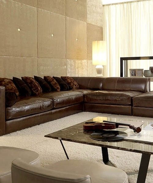 Extra large sectional leather couches | Дизайн дивана, Кожаные .