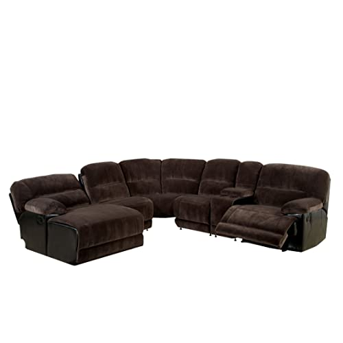 Sectional Sofa with Chaise and Recliner: Amazon.c