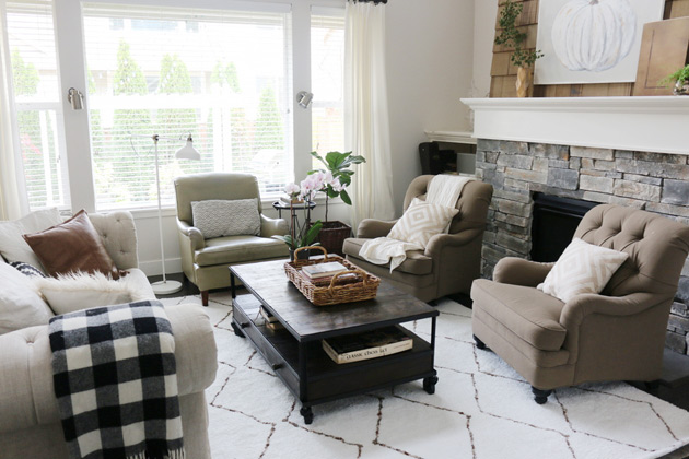 why I found a new rug for the living room | Jones Design Compa