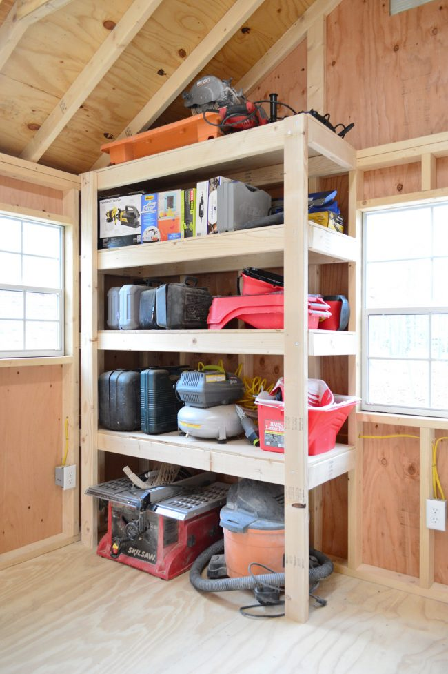 4 Shed Storage Ideas For Tons Of Added Functi