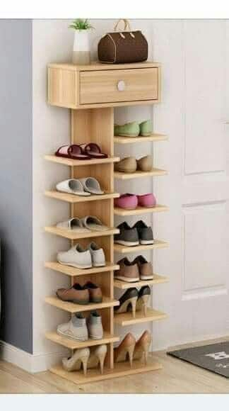 27 Cool & Clever Shoe Storage Ideas for Small Spaces - Simple Life .